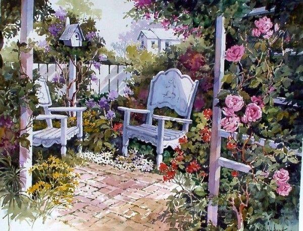 jardin enchanté