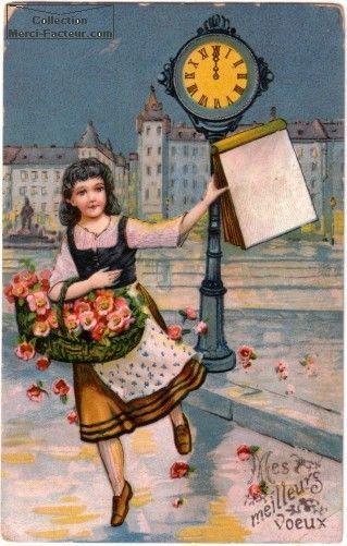 Anciennes cartes de Bonne Année 1324a752