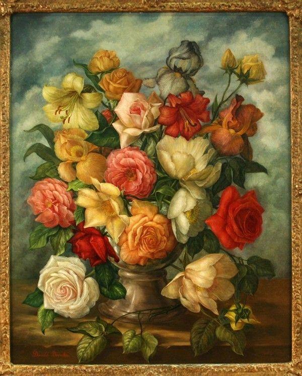 vase de rose