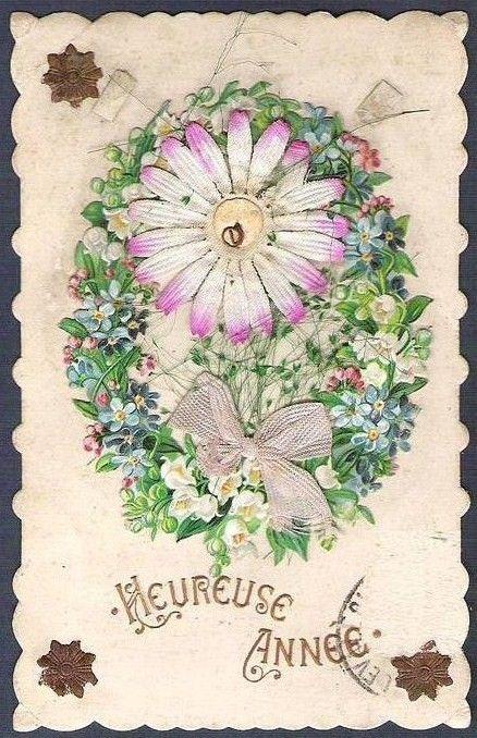Anciennes cartes de Bonne Année 58b6b1e0