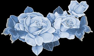 Résultat d'images pour Gifs fleurs bleues