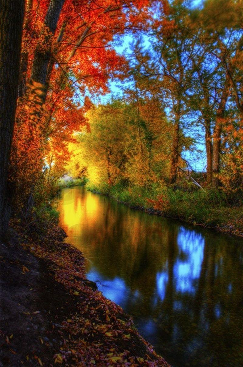 Beautiful Autumn Sunset: Nature At It's Best On Pinterest