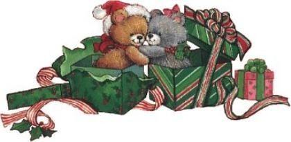 fêtes :NOEL animaux de noel