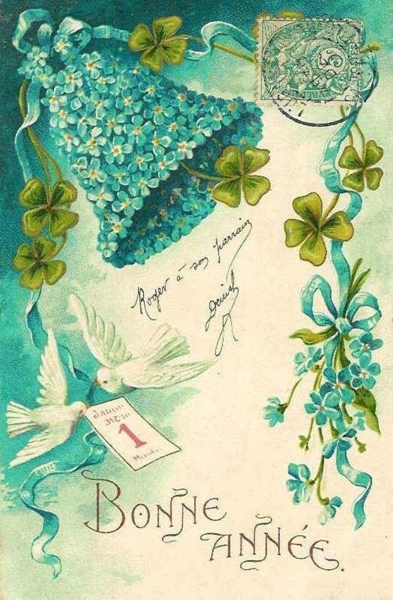 Anciennes cartes de Bonne Année - Page 2 A3e6123a