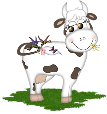 Gifs animaux vaches - Photo vache rigolote ...