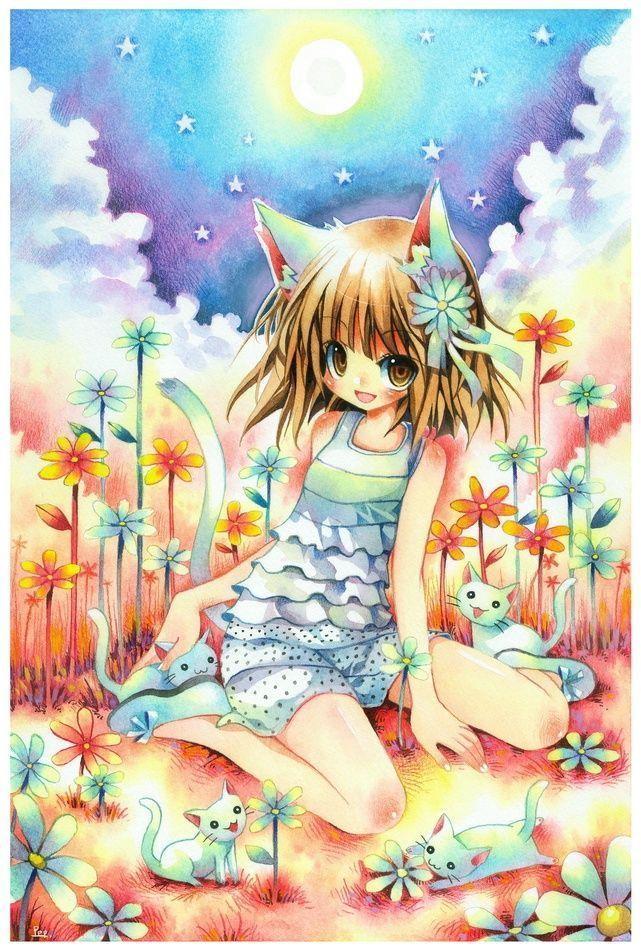 Belles images mangas - Image de manga fille ...