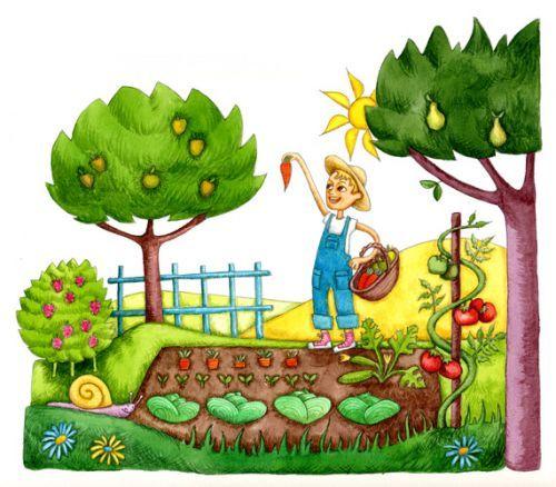 Clipart Gratuit Jardin
